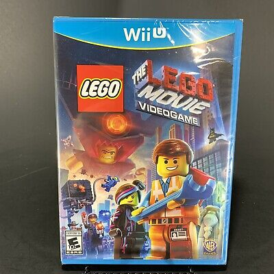 The LEGO Movie Videogame Video Game - Wii U Game NEW FACTORY SEALED Free Ship
