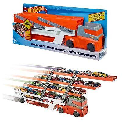 Hot Wheels Toy Mega Hauler 50th Anniversary Car Vehicle Transporter NEW BOXED