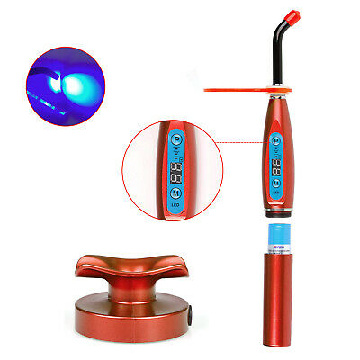 Dental 5w Led Curing Light Lamp Wireless Cure Lamp 1500mwcm Red Us Stock