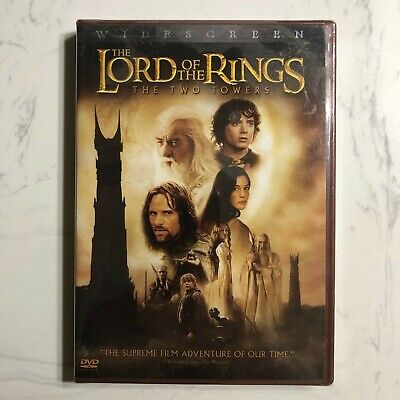 The Lord of the Rings: The Two Towers (DVD, 2003, 2-Disc Set, Widescreen Two...