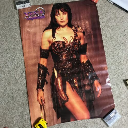 "Vintage Xena Warrior Princess Poster 1996 MCA Television 23"" x 34"""