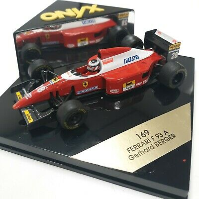 ONYX 169 Ferrari F 93 A Gerhard Berger Race Car #28  1:43