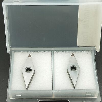 2pcs Vnmg160404 Cbn Used For Steel Diamond Turning Insert Cnc Lathe Turning