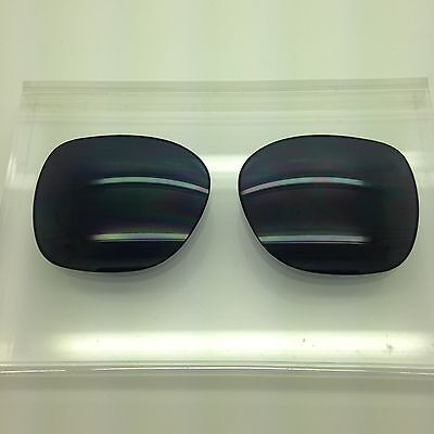 Oakley Beckon Custom Made Sunglass Replacement Lenses Dark Grey polarized (Oakley Beckon Replacement Lenses)