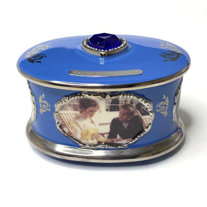 Titanic Porcelain Music Box Ardleigh Elliot Plays Rose New W/ COA 1999