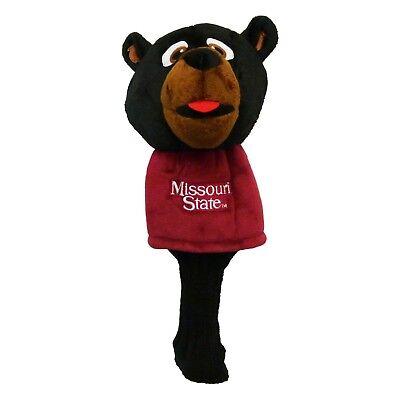 Team Golf NCAA Missouri State Bears Mascot Driver Headcover - 52513 Missouri Mascot Headcover