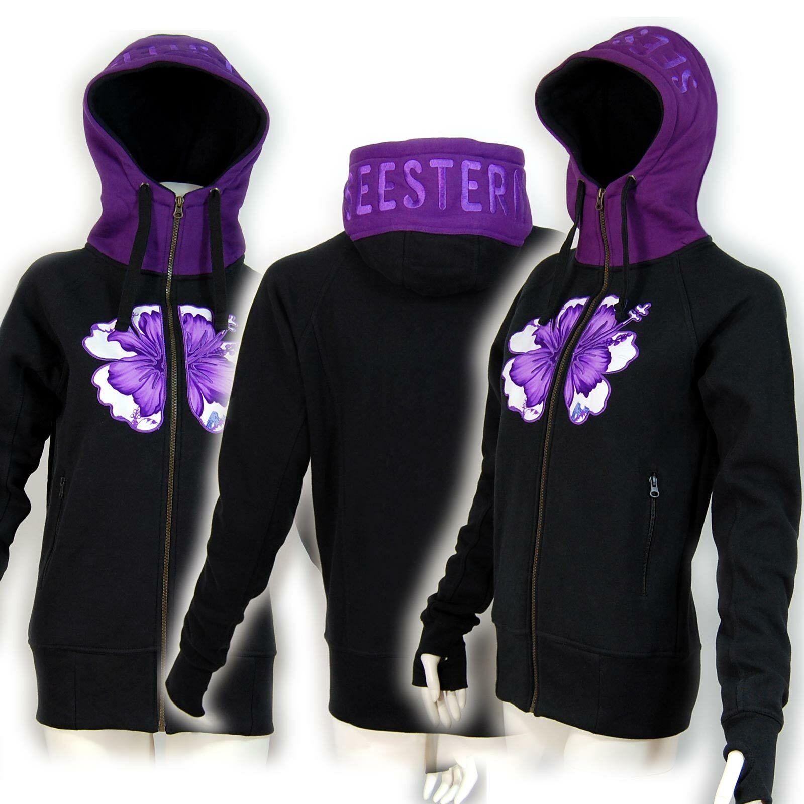 SEESTERN Damen Kapuzen Sweat Shirt Jacke Kapuzen Pullover Hoody Sweater XS -XXL