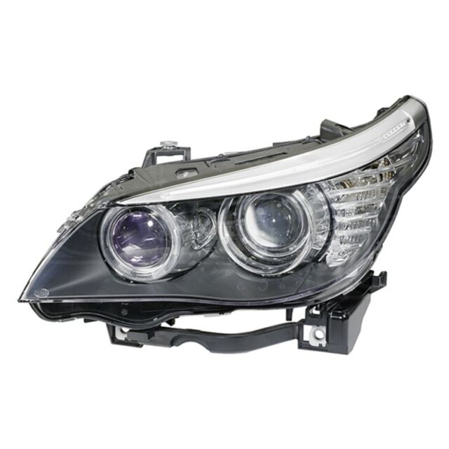 Headlight fits: BMW 5 (E60) Xenon '03-> Left | HELLA 1LL 164 909-001