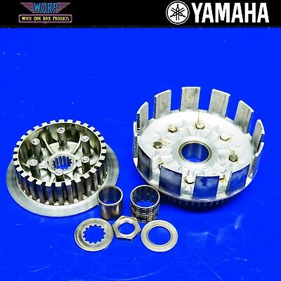 2005 Yamaha YZ250 2 Stroke Clutch Basket Pressure Plate Parts Incomplete ()
