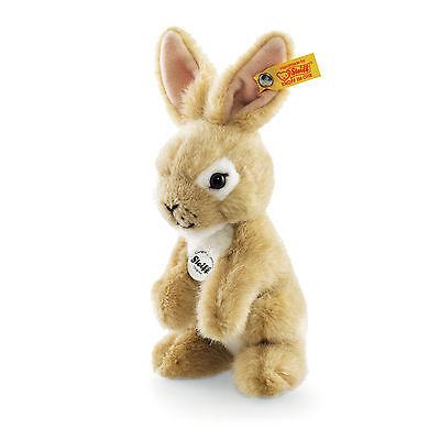 Steiff Hase Meiko 16cm beige Kuscheltier 30°C Rabbit Häschen Geschenk Neu 080272