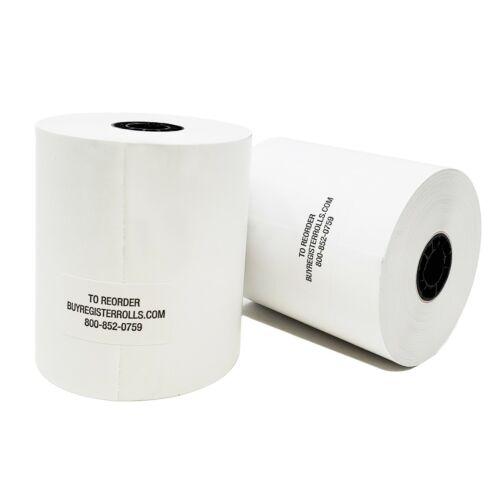 3 1/8 X 230  THERMAL PAPER ROLLS @ STAR TSP100 EPSON IBM BPA FREE POS (10-1000)