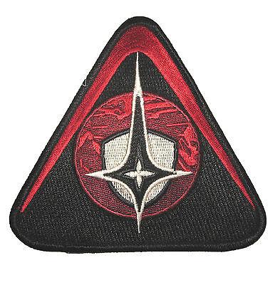 Red SECURITY Patch - Kostüm Uniform Aufnäher - neu (Kostüme Firefly)