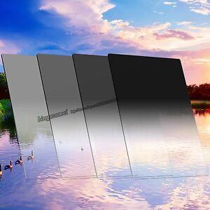 150*100mm Grauverlaufs Filter Allmähliche Grau GND2+4+8+16 Kit für Cokin Z Lee