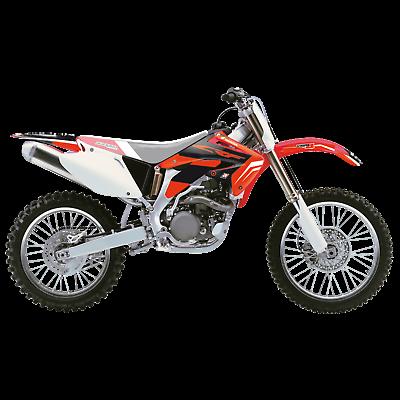 adesivi grafiche Honda Crf r 450 2002 2003 2004 2137N Blackbird moto in crystall 1