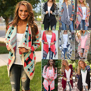 Women-Outwear-Long-Sleeve-Irregular-Knitted-Boho-Cardigan-Loose-Tops-Coat-Jacket