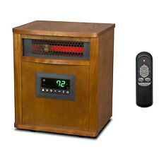 Lifesmart 6 Element 1800 Sq. FT. Portable Infrared Quartz Electric Space Heater