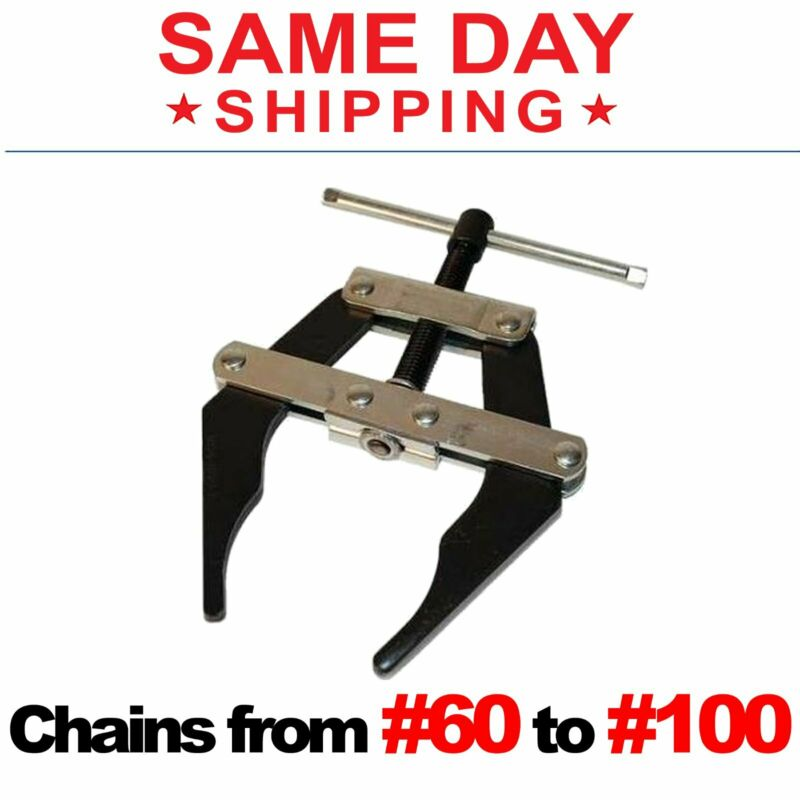 Roller Chain Connecting Puller Holder Tool #60 - #100