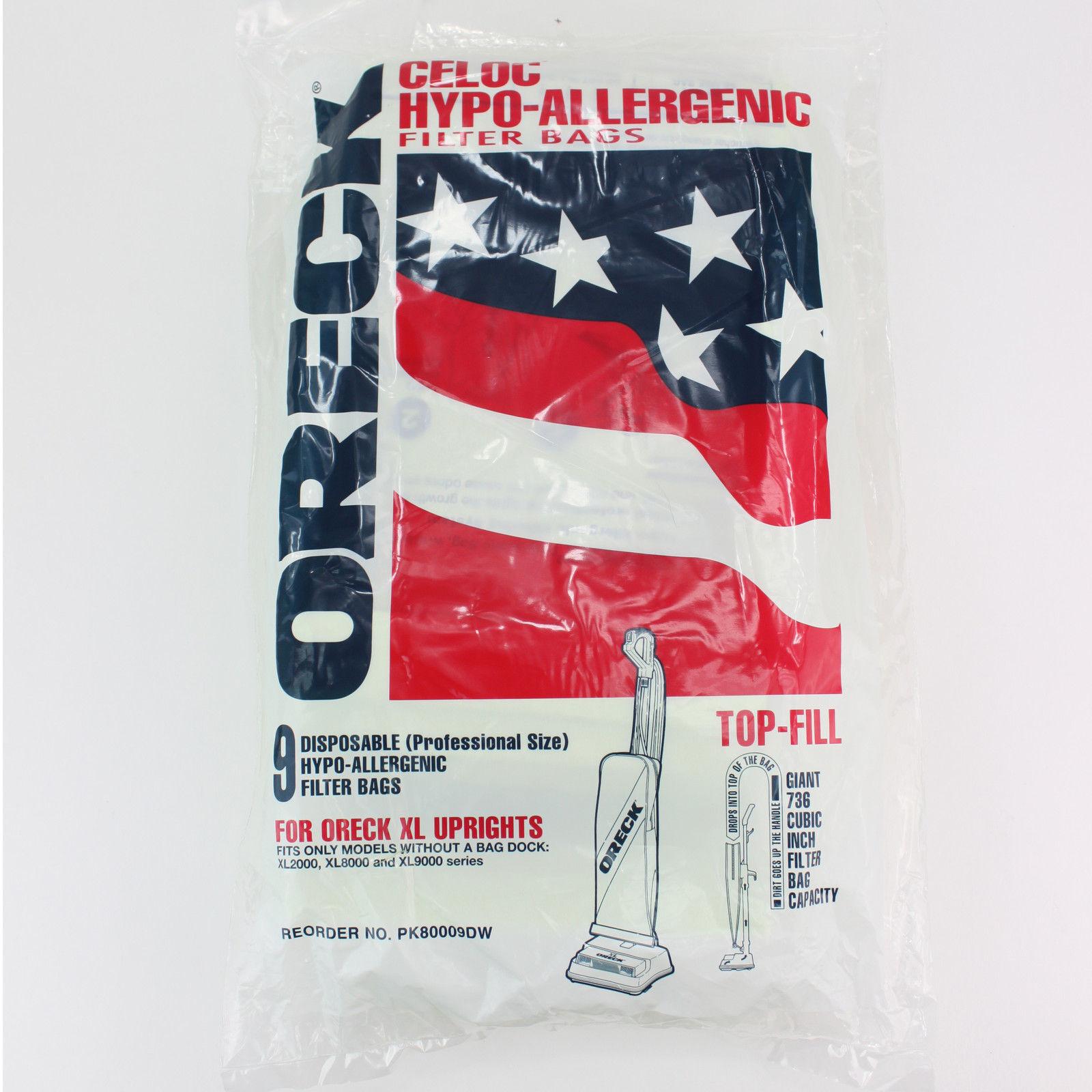 genuine non docking hypo allergenic bags pk80009dw