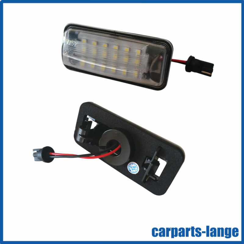 LED SMD Set Subaru NUMBER PLATE LIGHT INDICATOR LAMP - TÜV Free - NEW