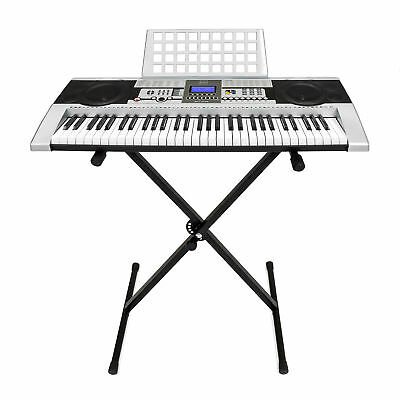 BCP 61 Key Electronic Keyboard w/ X-Stand