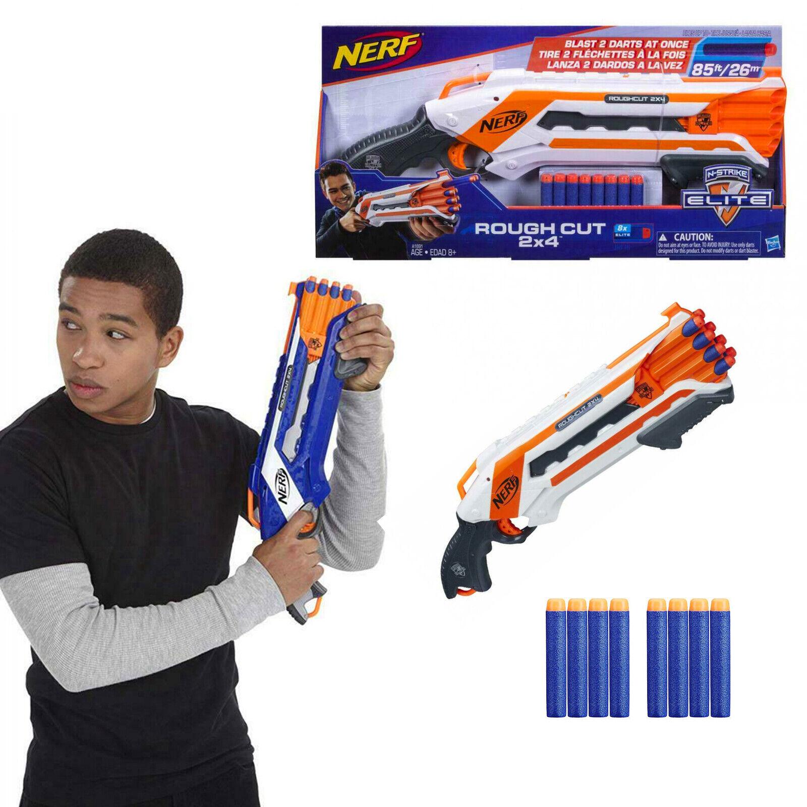 Hasbro Nerf N-Strike Elite Rough Cut - Spielzeugblaster Nerf Gun Darts Pfeile