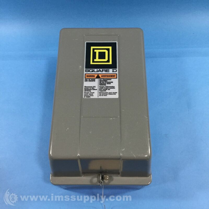Square D 8903SMG2 Enclosed Contactor, 30 Amp USIP