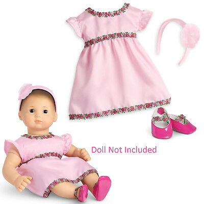 91228c37a9 American Girl BITTY BABY PINK ROSE DRESS for 15