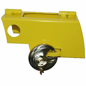 Trailer Caravan Universal Hitch Coupling Hitch Lock with Padlock Hitchlock