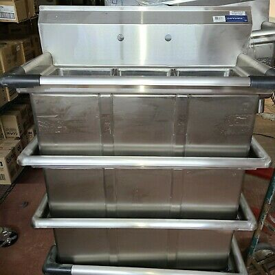 Commercial Sink 36 Sms1014-3 Nsf Sink