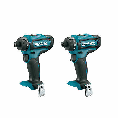 Makita 12v Max Cxt Lithium Ion Cordless 14 Hex Driver Drill Tool Only 2 Pack