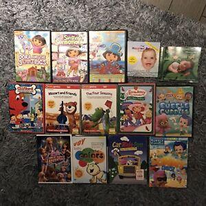 Children's movies and CD's