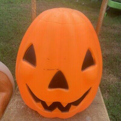 Vtg Empire Blow Mold Pumkpin Jack O Lantern Halloween Decoration Pumpkin