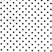Black White Polka Dot Fabric