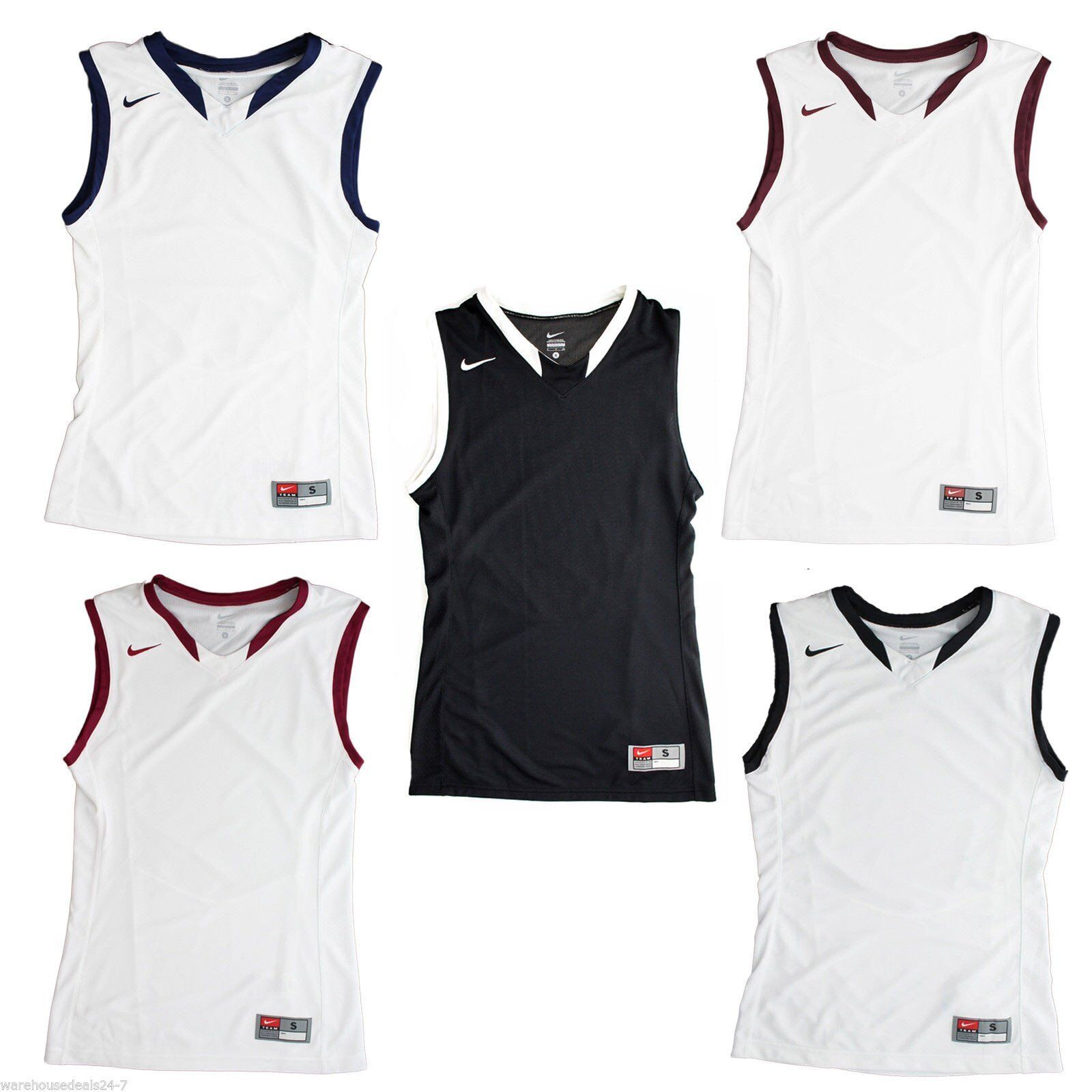 Nike Men's Team Enferno Basketball Jersey Sleeveless Tank Sh