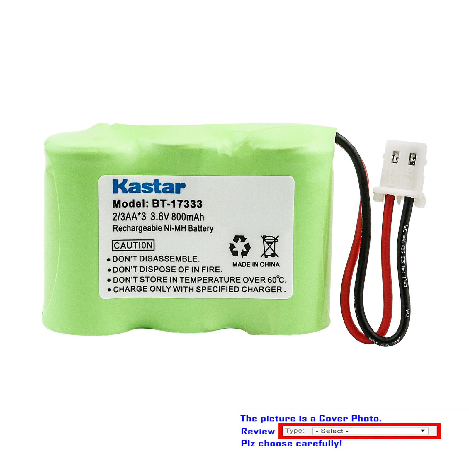Kastar Ni-MH Battery Replace for Eton / GRUNDIG FR360 FRX3 F