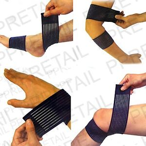 ELBOW-WRIST-KNEE-ANKLE-INJURY-COMPRESSION-WRAP-Sport-Joint-Sprain-Strain-Support