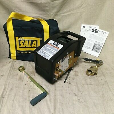 3m Dbi-sala 8102001 Confined Space Winch Manual Operation 350 Lb Weight Capacity