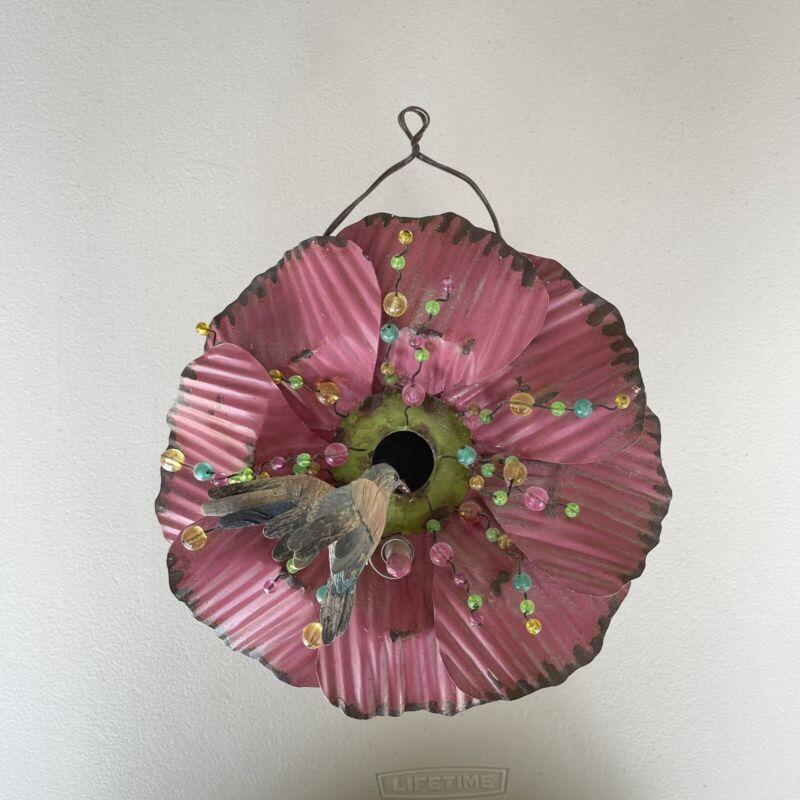 flower birdhouse