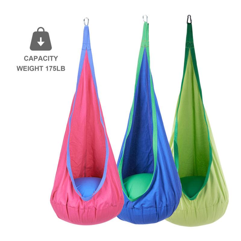Details about Baby Swing Children Hammock Kids Swing Chair Indoor Outdoor Hanging Child Seat
