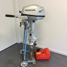 Honda 5HP Four Stroke Outboard New Farm Brisbane North East Preview