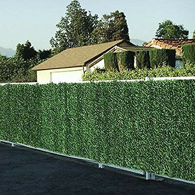 Conifer Hedge Artificial Greenery Fence Screen Garden Mat Privacy Wall 150X300cm