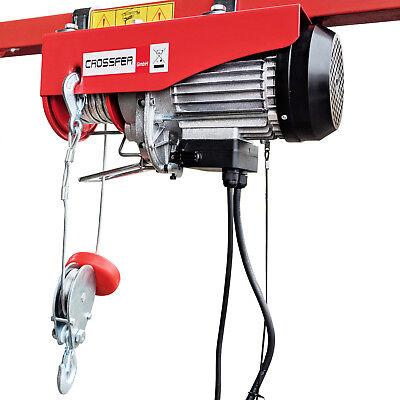 Elektrische Seilwinde Seilhebezug CROSSFER PA250A Kran Winde Hebezeug 250Kg NEU ()