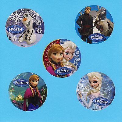 15 Frozen - Anna, Elsa, Olaf - Large Stickers - Party Favors](Elsa Stickers)