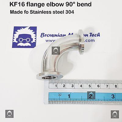 Kf16 Flange Elbow 90 Degree Stainless Steel 304 Vacuum Adapter