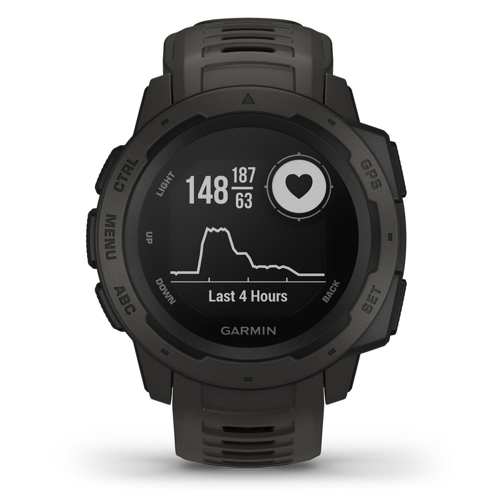 garmin-instinct-rugged-outdoor-gps-watch-graphite-wrist-hrm-glonass-010-02064-00