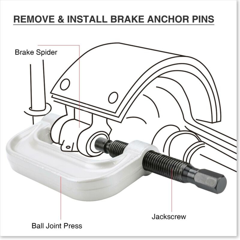 ::21PC C-PRESS BALL JOINT MASTER SET SERVICE KIT REMOVER INSTALLER 2 4 WD AUTO
