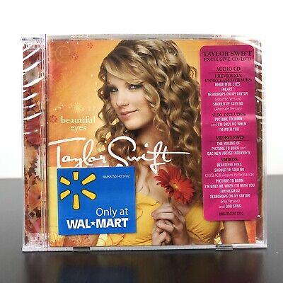 Beautiful Eyes [EP] by Taylor Swift (CD, Jul-2008, 2 Discs, Big Machine (Taylor Swift Beauty)