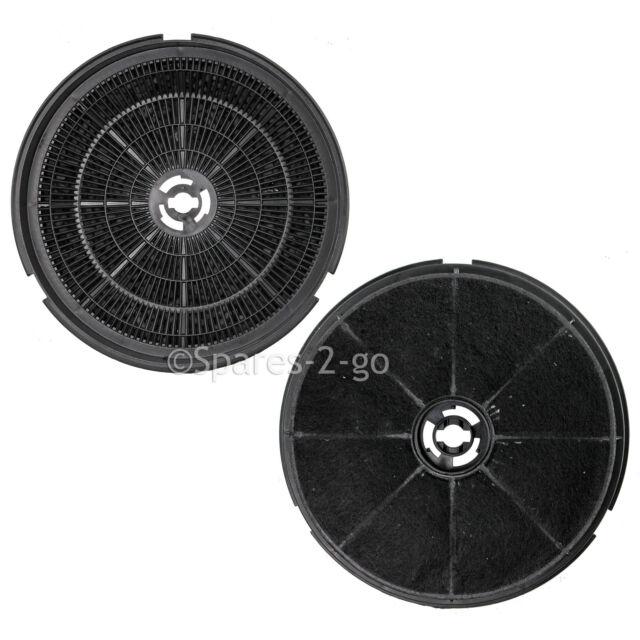 2 x Type 150 Carbon Filters For STOVES Cooker Hood Range Filter Vent Fan