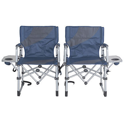 Sportsman Series Folding Camping Chairs With Side Table Set
