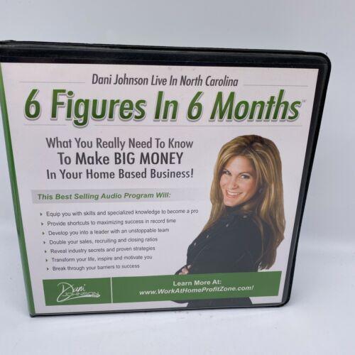 Dani Johnson 6 Figures In 6 Months 10 CD set 2009